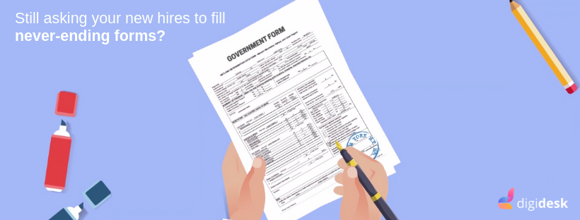 Automate Employee Form Filling | Feature – Digidesk